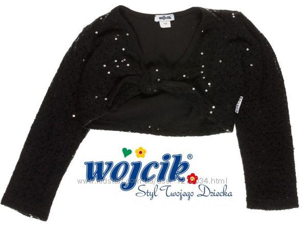 Wojcik теплое двойное болеро нарядное кофта свитер кардиган полувер джампер