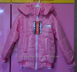 Качественная фирменная спортивная демисезонная курточка куртка 104 110 116