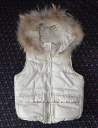 Теплая и красивая жилетка безрукавка IYAM kids Корея фирменная 98-110 р.