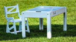 Акция Детский световой стол-песочница. Набор для игры с песком в подарок