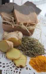 Аюрведическое мыло с пудрой розмарина и специями