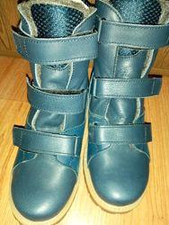 Ортопедические ботинки сапоги зимние стелька 20, 5-21см