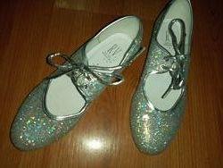 туфли танцевальные степ RV Англия р. 33 стелька 20, 5 см