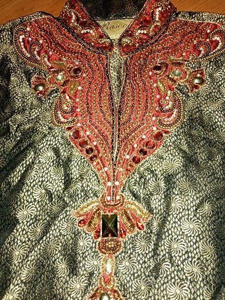 Индийский костюм рубашка туника мужская р. 48