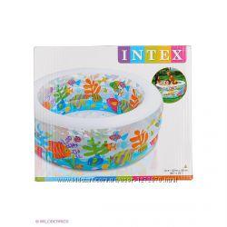 Детский надувной бассейн Intex 58480 Аквариум  152x56 см.