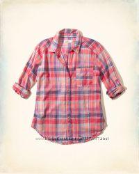 Hollister стильная рубашка размер S