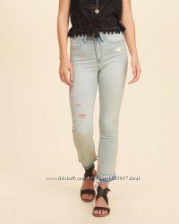 Hollister оригинал светлые джинсы