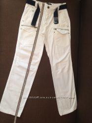 летние белые брюки, 11-12 лет