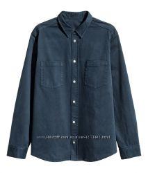 Ликвидация Стильная плотная рубашка куртка на кнопках H&M Studio XL