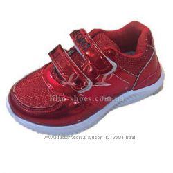 Кроссовки для девочки р. 26-31 маломерят