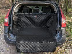 Защитная накидка в багажник, автогамак для собак