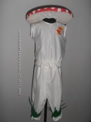 Карнавальный костюм грибочка