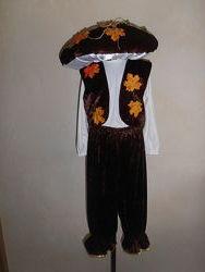 Карнавальный костюм - грибок боровичек