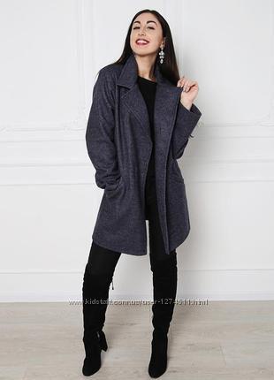 Новое оверсайз пальто р. 38-40 цвета