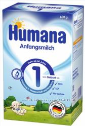 Детская смесь Humana Германия в ассортименте Доставка