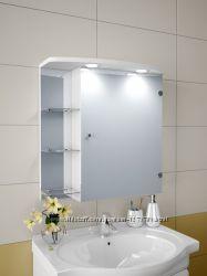 зеркальный шкафчик с подсветкой