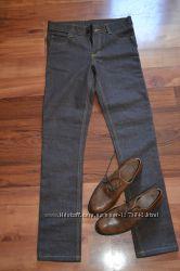 Новые джинсы Cheap Monday шоколад на высокой талии р-р С