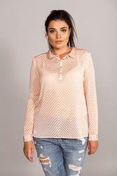 Mango шифоновая нежная блуза рубашка новая коллекция бирки