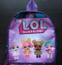 Детские рюкзачки с героями мультфильмов  27х20х8 см.