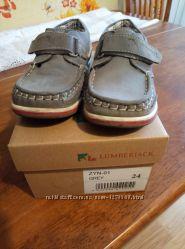 Туфли серые  lumberjack