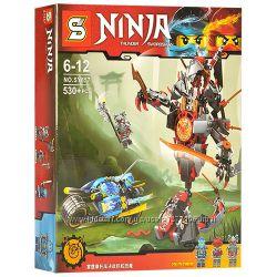 Конструктор Ninja Sy857 Битва с демоном 530 дет