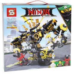 Конструктор Ninjago Movie SY925 Робот 702 дет