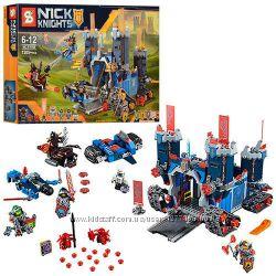Конструктор SY568 Nexo Knights Мобильная крепость Фортрекс, 1205 дет