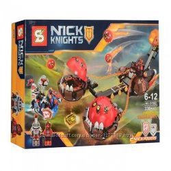 Конструктор SY562 Nexo Knights Безумная колесница Укротителя, 338 дет
