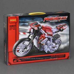 Конструктор Decool 3353 Мотоцикл, 431 дет