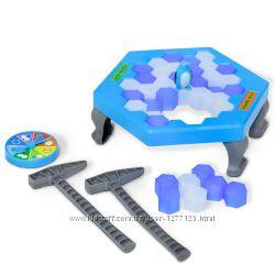игра Чия крижинка міцніша  Чья льдинка крепче c пингвином Fun game