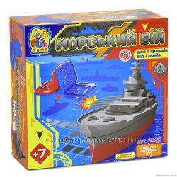 Игра  Морський Бій  Морской бой Fun game