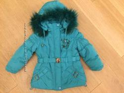 Куртка зима 92 размер, на 2-3 года