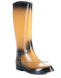Мега стильные высокие резиновые сапожки от Keddo оригинал