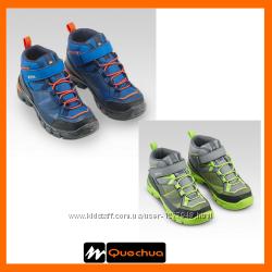 Демисезонные водонепроницаемые ботинки quechua 28-34 размер
