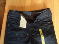 Джинсовые брюки подкладке Pull ON , Marks&Spenser
