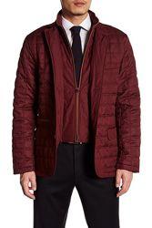 Cтеганая куртка TailorByrd с заплатками на рукавах