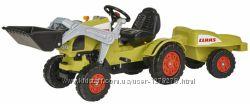 Трактор-навантажувач педальний Клаас для катання малюка 0056553