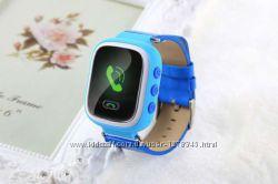 Детские умные GPS часы Smart Baby Watch Q100 цветной екран и WiFi
