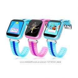 Детские умные GPS часы телефон трекер Smart Baby Watch Q750