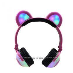 Наушники беспроводные LINX Bear Ear Headphone Наушники с медвежьими ушками
