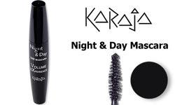 Тушь для ресниц водостойкая Night & Day Karaja