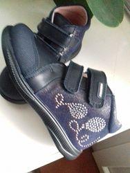 Ботинки 26 кожа Паблоски