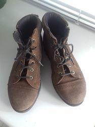 Ботинки замша 31