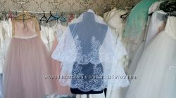 Новая Свадебная Фата с вышивкой