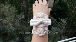 Прекраснейшие новые свадебные перчатки для невесты