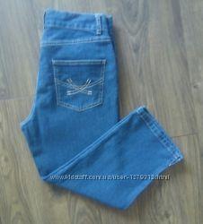 Фірмові джинсові бріджі M&S