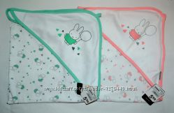 Пеленка уголок для новорожденных 65х65 см Zeeman Голландия полотенце
