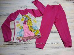 Пижама детская с длинным рукавом и манжетом