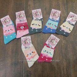 Носки детские для девочек и мальчиков тонкие без начеса