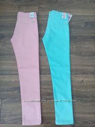 Яркие хлопковые штаны для девочек,